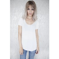 SOFT LINA WHITE - T-SHIRT