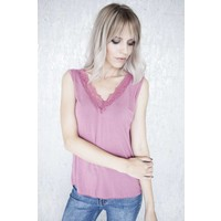 MELANY LACE OLD PINK - TOP