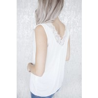 MELANY LACE WHITE - TOP