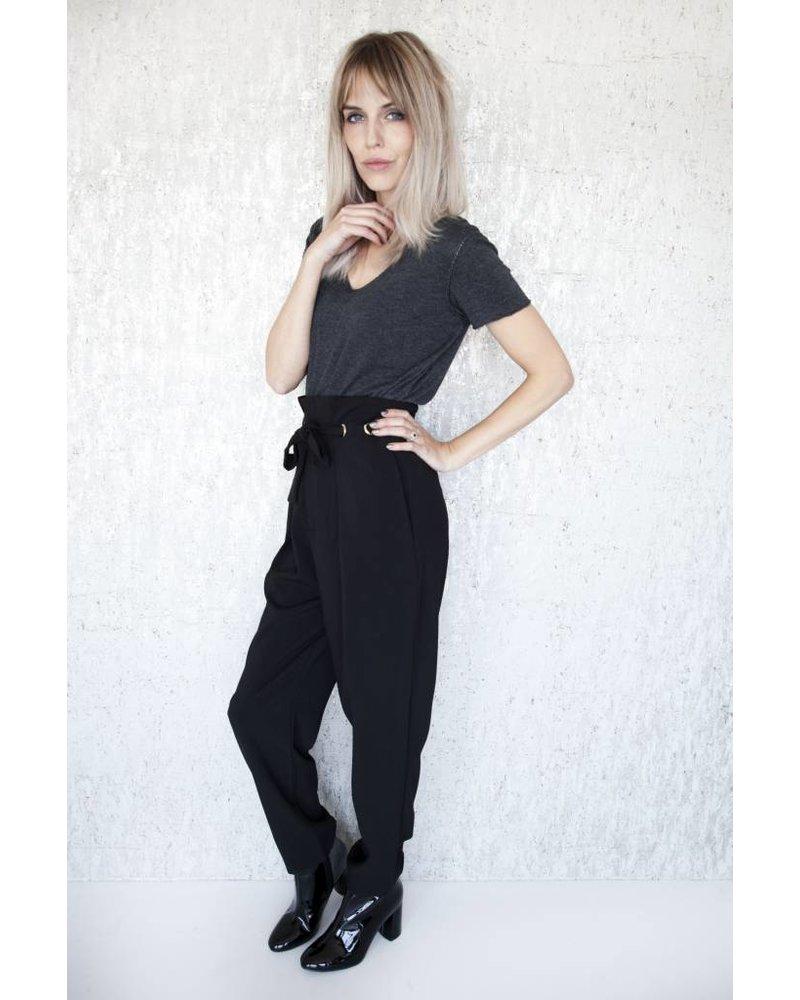 LIA BLACK - BROEK