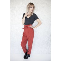 LIA INDIAN RED - PANTS