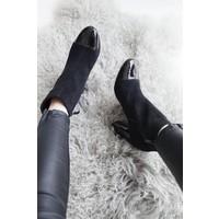 CLASSY SUZY BLACK - BOOTS