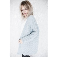 HEAVY KNIT MINT - GILET