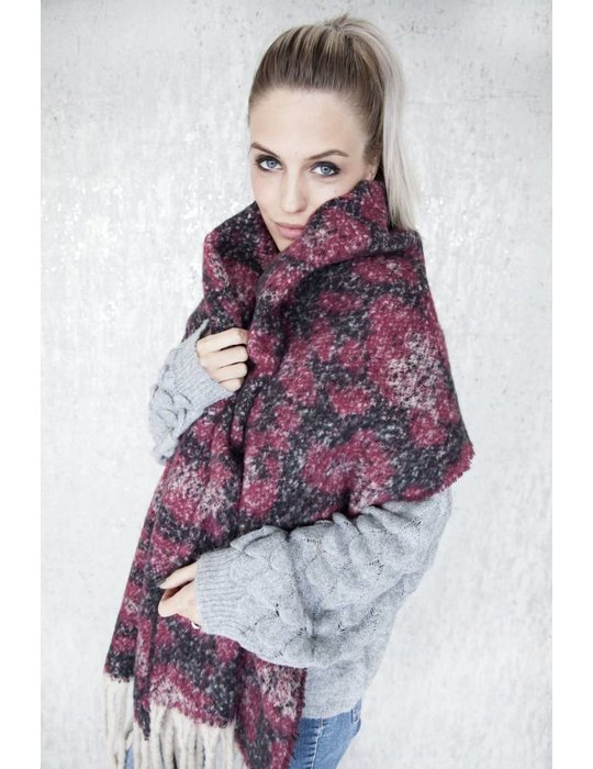 ellemilla WARM ANIMAL RED/BLACK