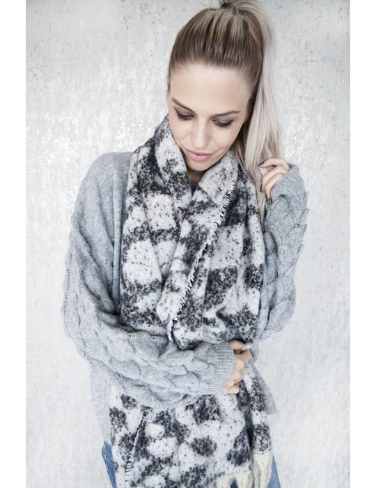 ellemilla WARM ANIMAL WHITE/BLACK
