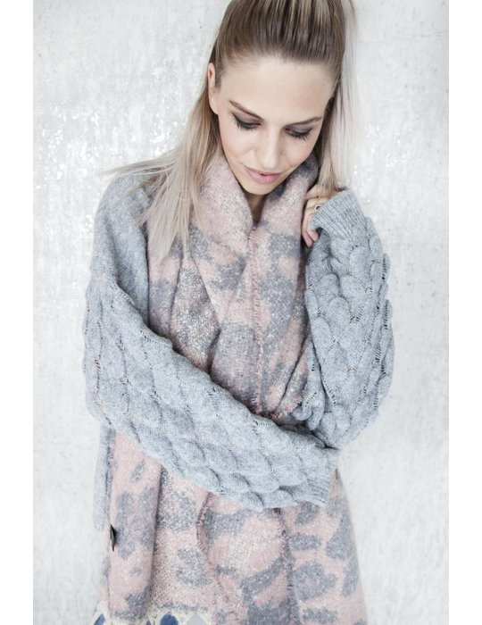 ellemilla WARM ANIMAL PINK/GREY