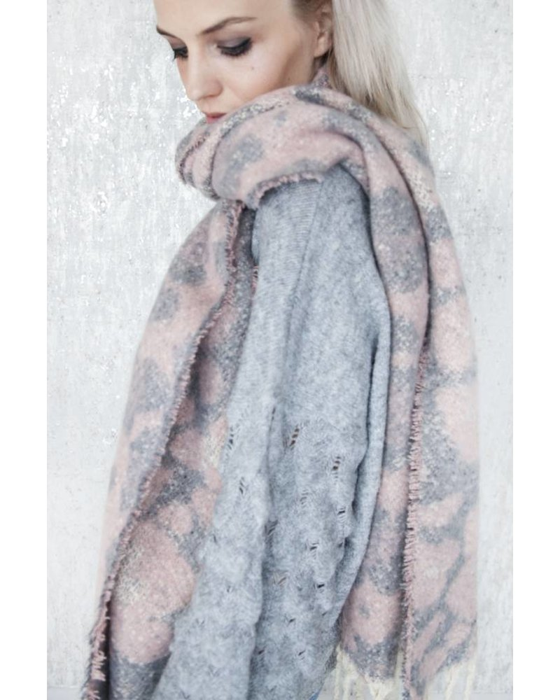 WARM ANIMAL PINK/GREY - SJAAL