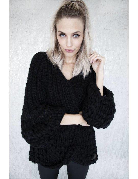 ellemilla SUPER BRAIDED BLACK