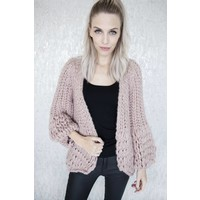 SUPER BRAIDED PINK - GILET