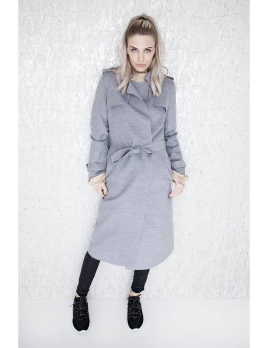 ellemilla SOFT TRENCH GREY