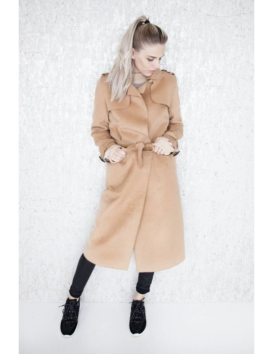 ellemilla SOFT TRENCH CAMEL