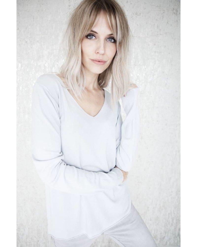 MIKA SOFT GREY - LONGSLEEVE