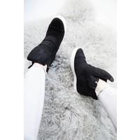 SANDY WEDGE BLACK - SNEAKERS