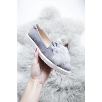 BUNNY GREY - LOAFERS