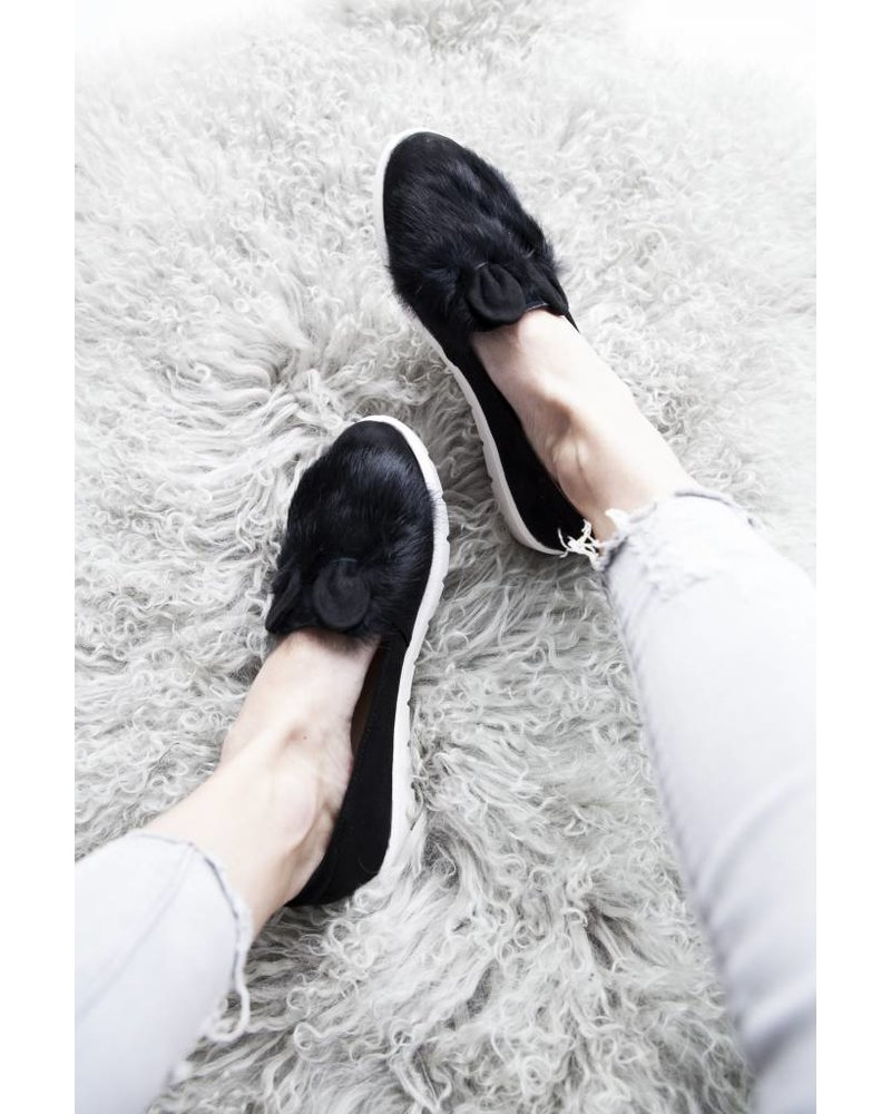BUNNY BLACK - LOAFERS