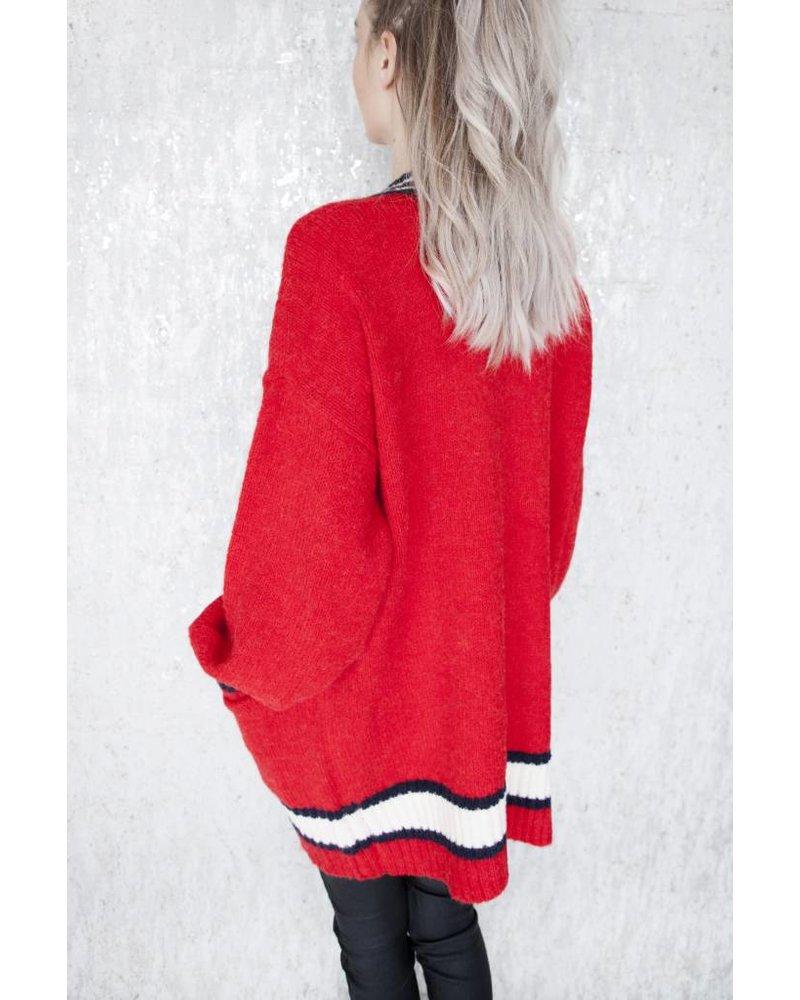 HARPER RED - GILET