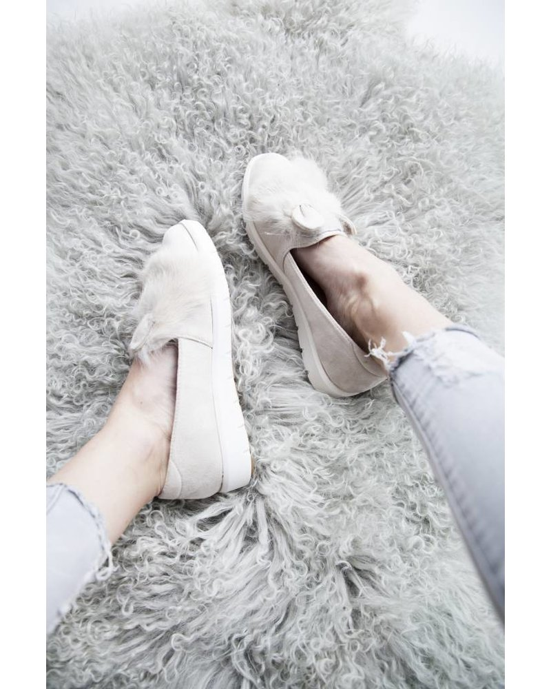 BUNNY CREME - LOAFERS