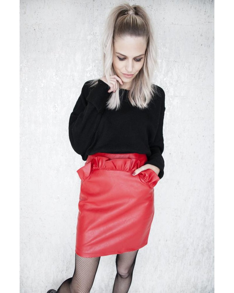 DAPHNE RED - SKIRT