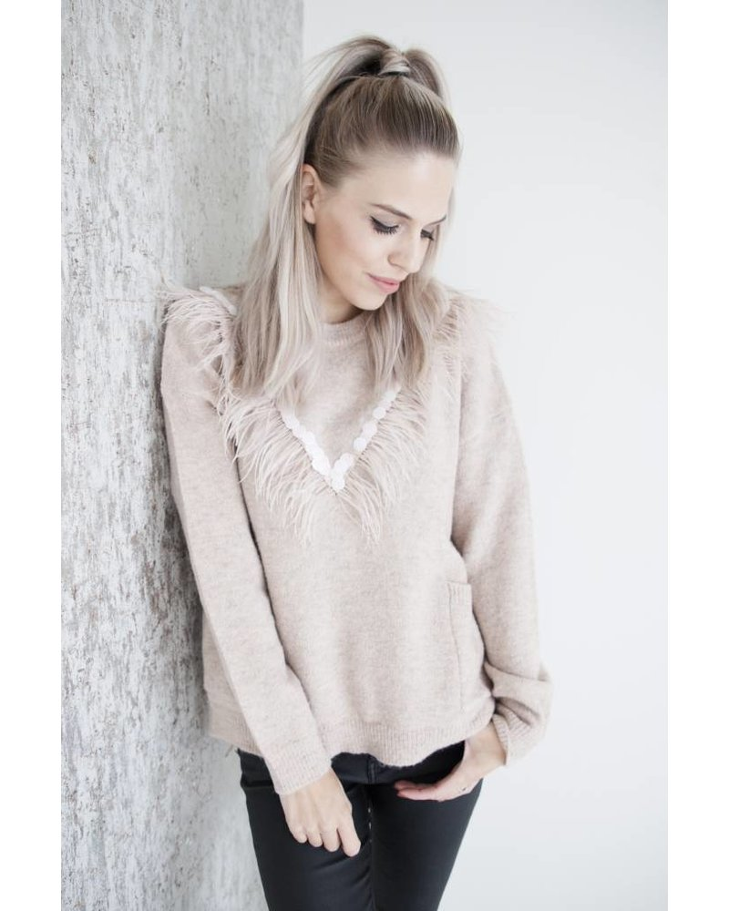 FEATHERS PINK - TRUI