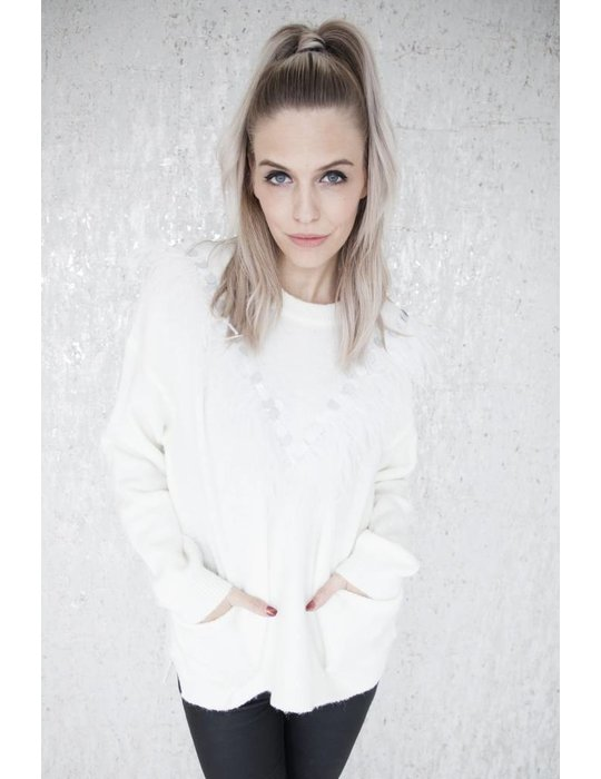 ellemilla FEATHERS WHITE