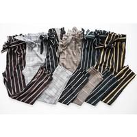 CHECK GREY - PANTS