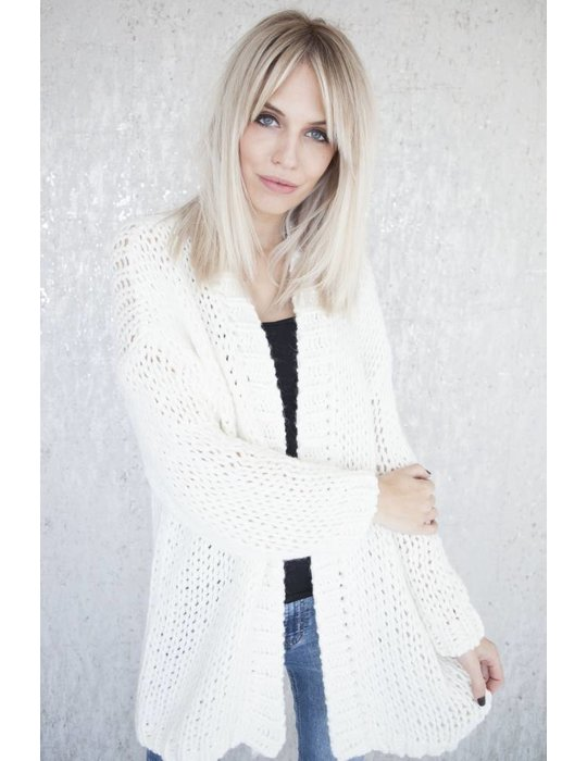 ellemilla CLAIR KNIT WHITE