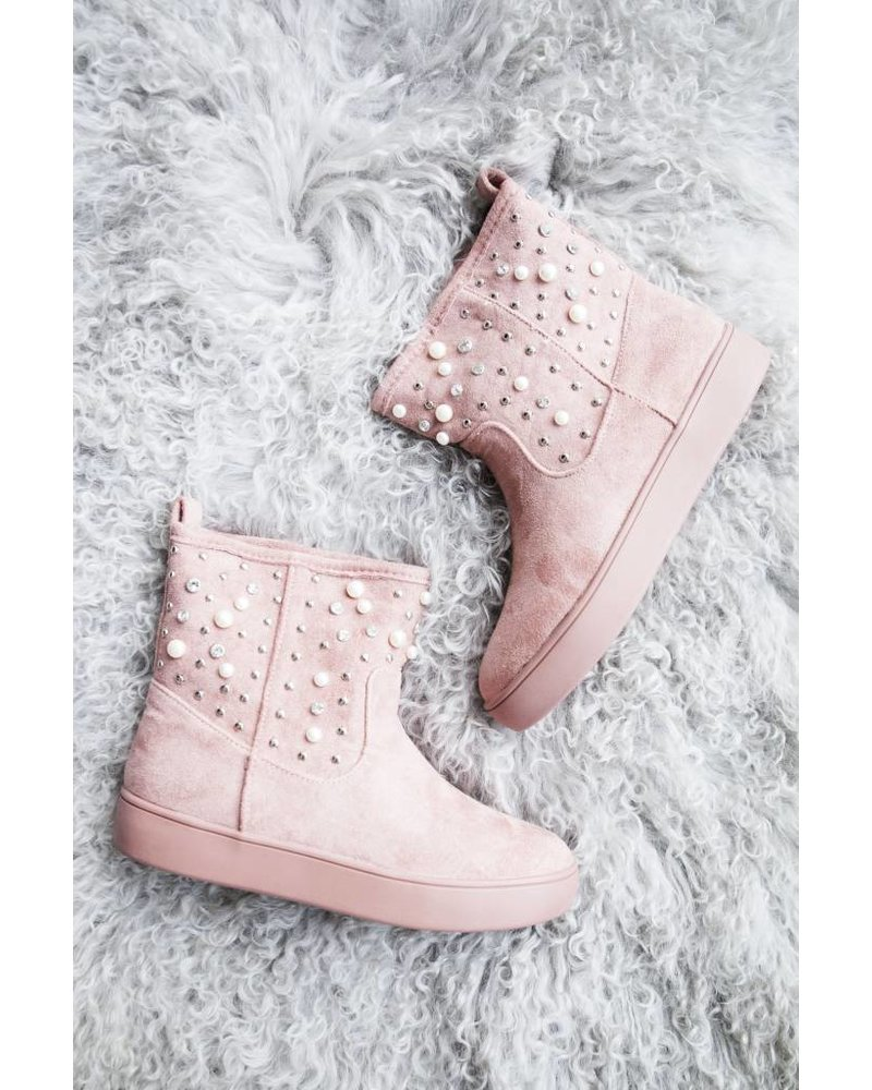 PEARLS PINK - BOOTS