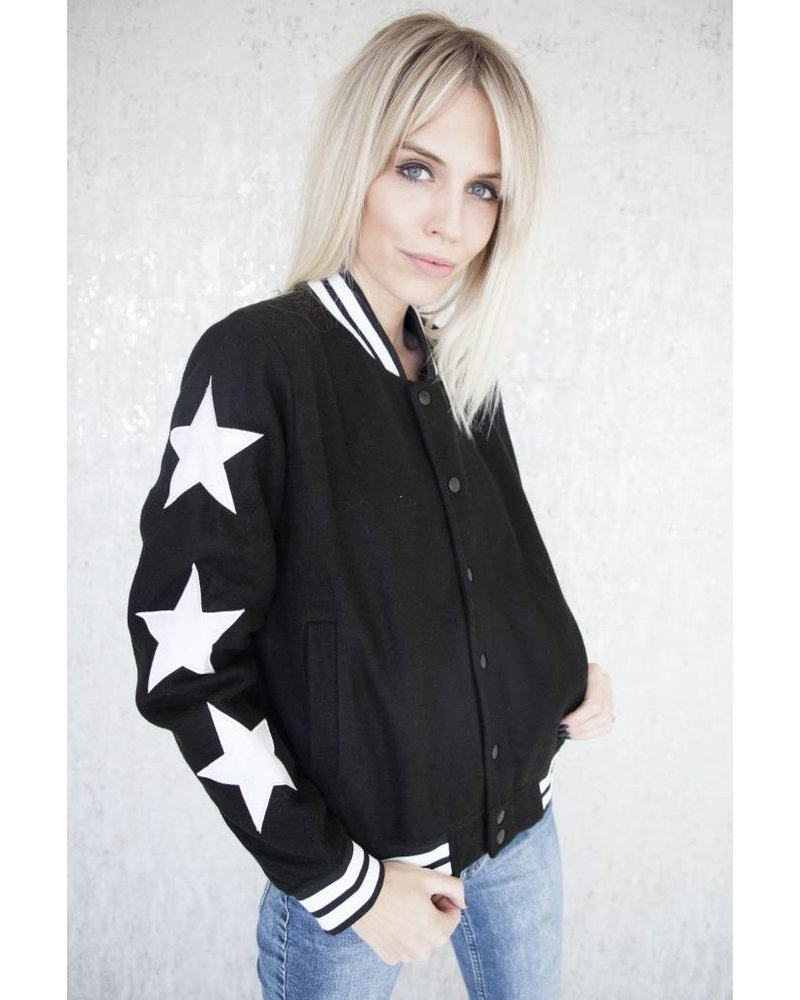 STARRED BLACK - JACKET