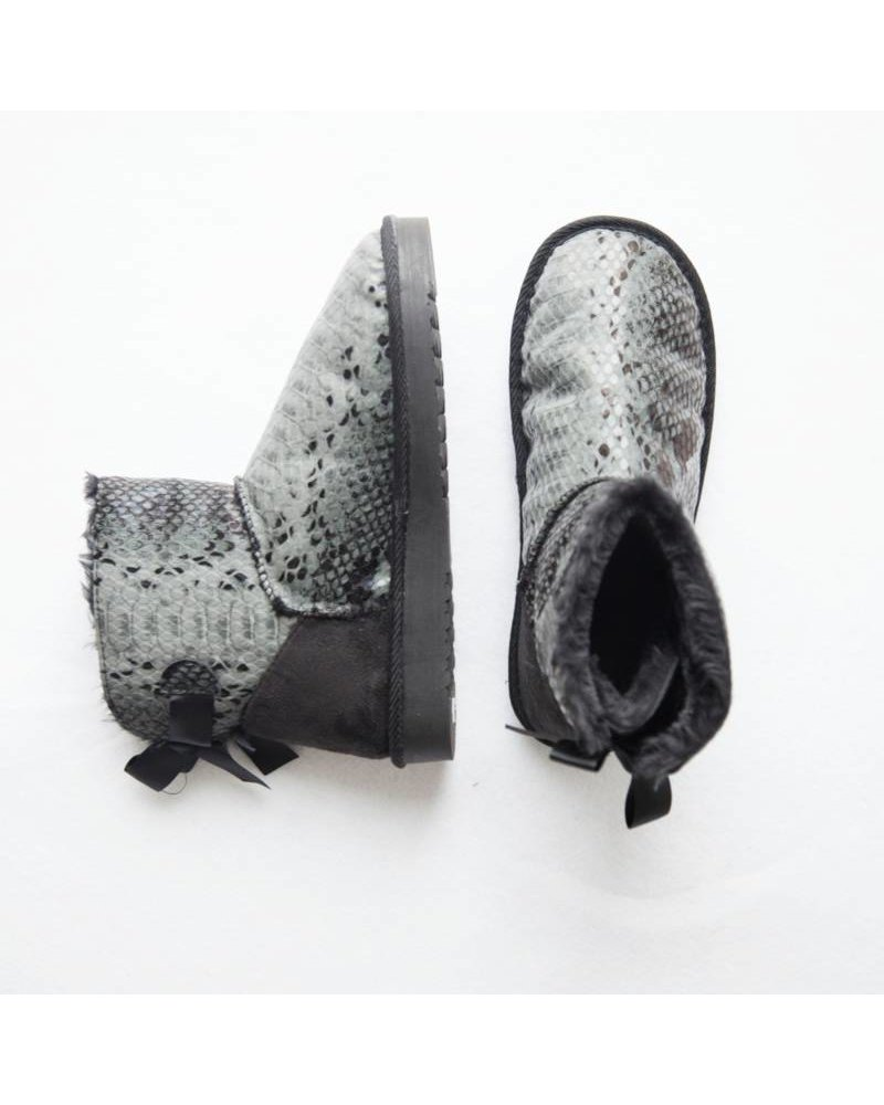 SNAKE GREY - BOOTS