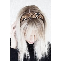 MEDINA SNAKE BROWN - DIADEM