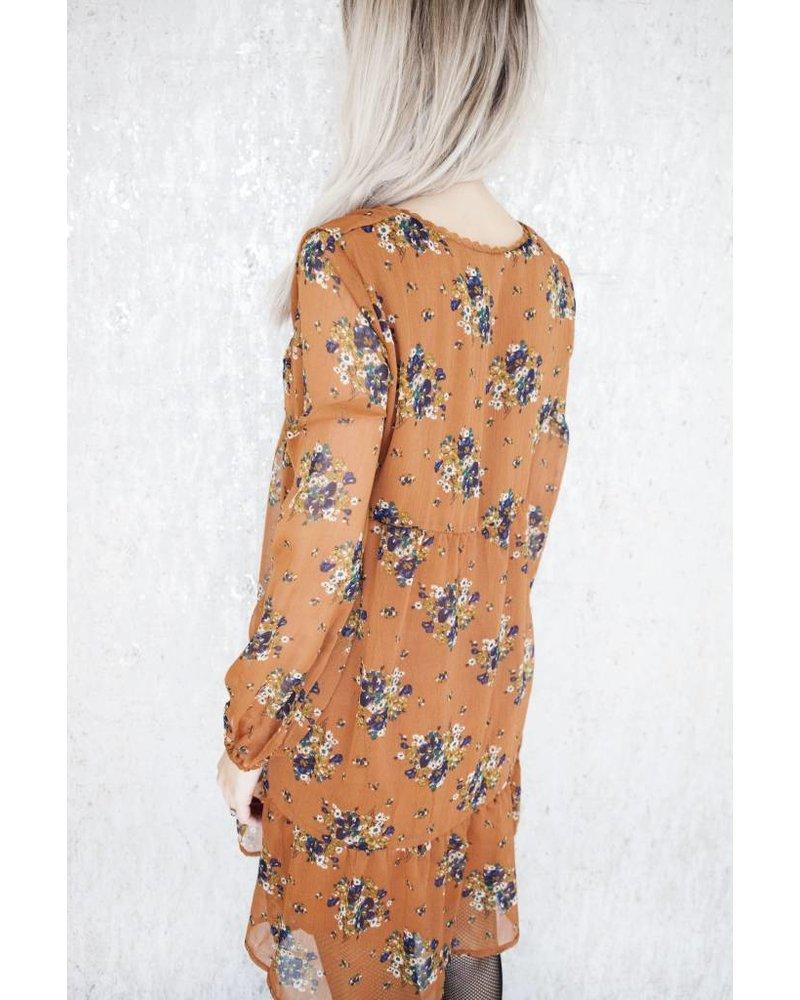 PRETTY FLOWERS RUSTY - DRESS