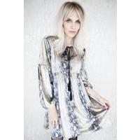 LORY SNAKE CREAM - DRESS