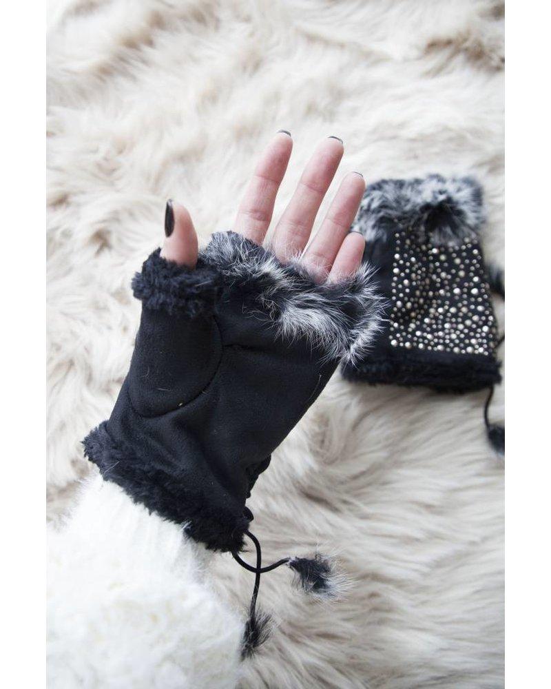 WINTER HANDS BLACK - HANDSCHOENEN
