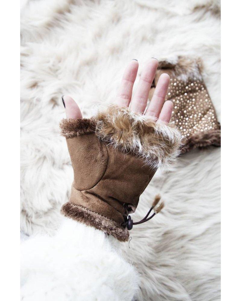WINTER HANDS CAMEL - GLOVES
