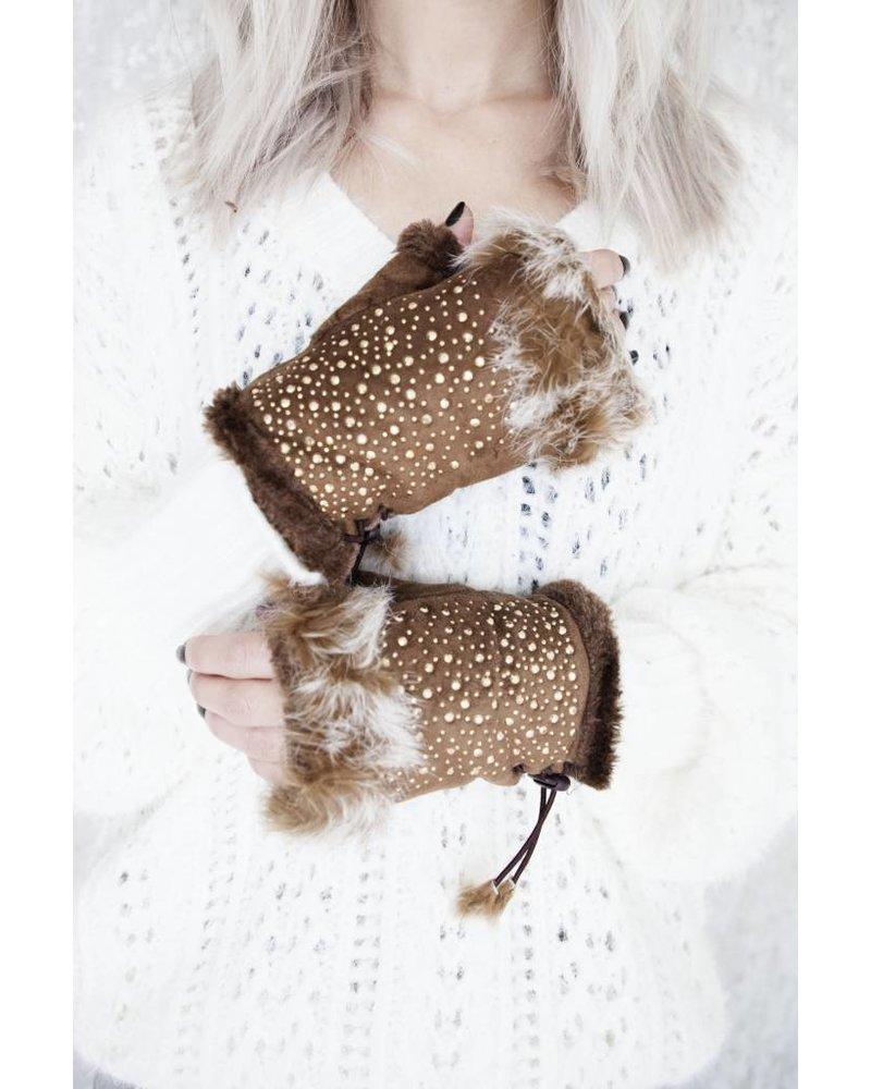 WINTER HANDS CAMEL - HANDSCHOENEN