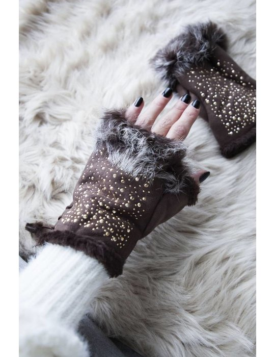 ellemilla WINTER HANDS BROWN