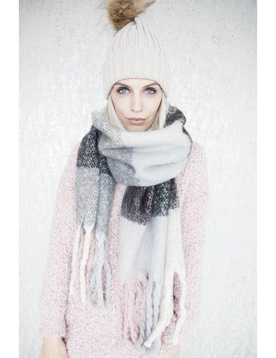 ellemilla WARM CHECK PINK/BLACK
