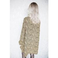 LONG KITTY MUSTARD - DRESS