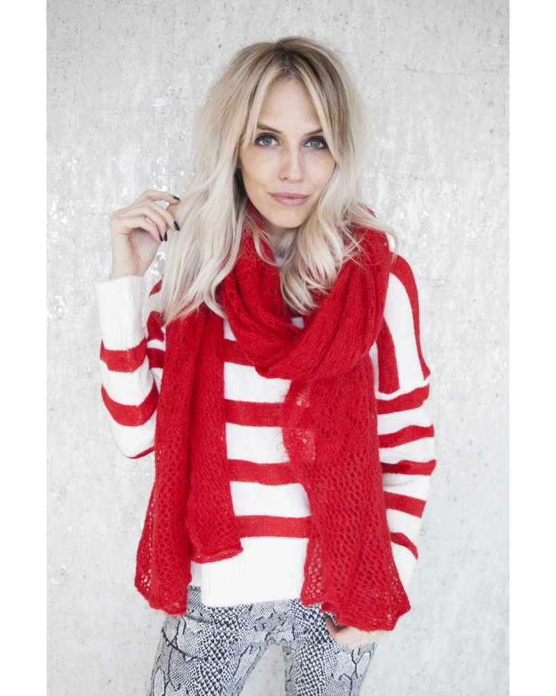 HOLIDAY STRIPES - SWEATER