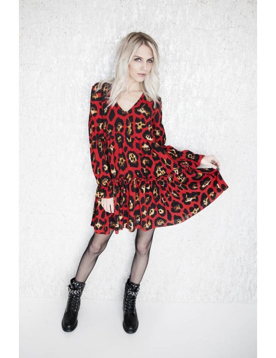 ellemilla HOLIDAY LEOPARD RED