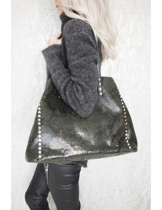ellemilla IT SNAKE BAG GREEN