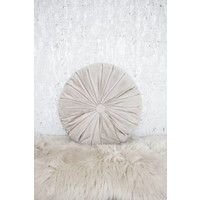COZY ROUND TAUPE - PILLOW