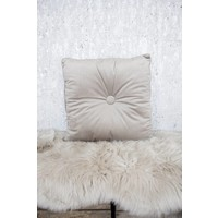 COZY SQUARE TAUPE - KUSSEN