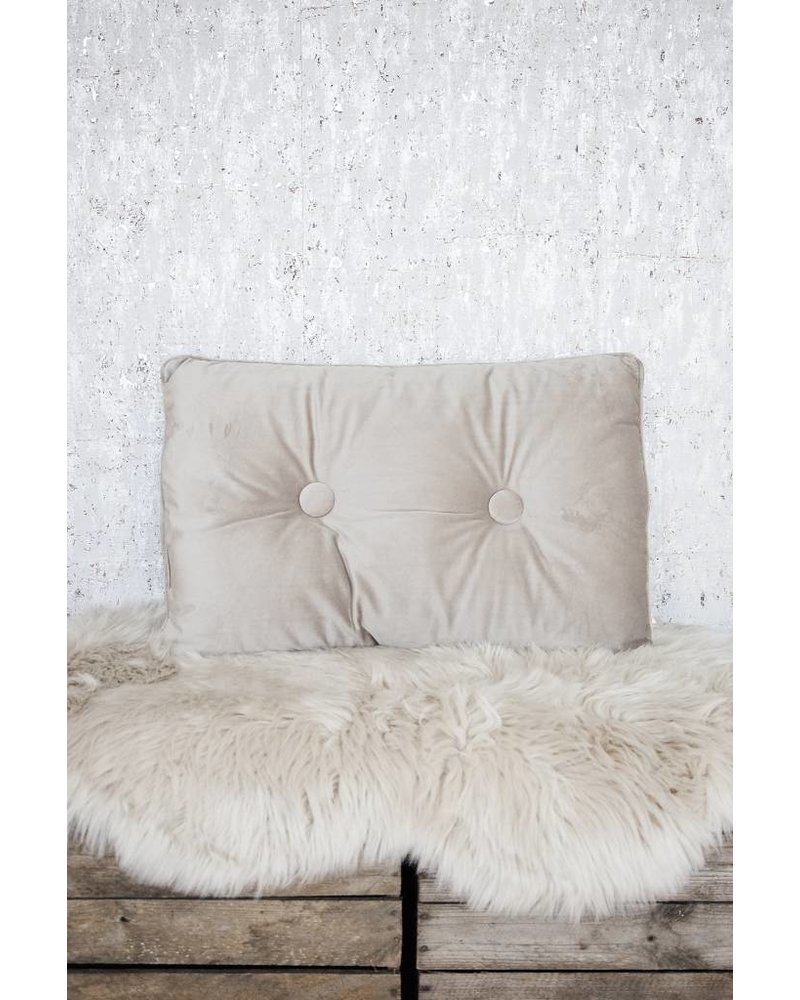 COZY LONG TAUPE - KUSSEN