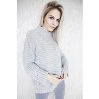 LAURANNE KNIT GREY - SWEATER