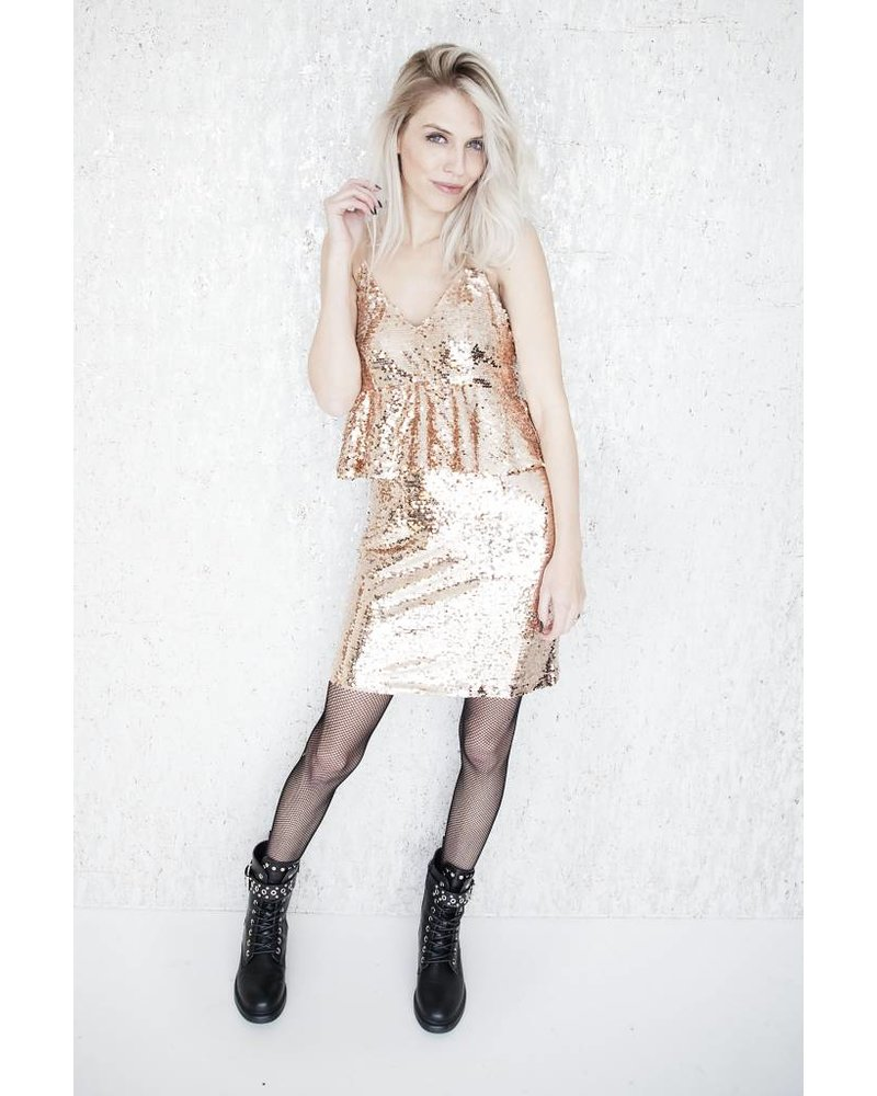 TIME TO PARTY ROSE - DRESS