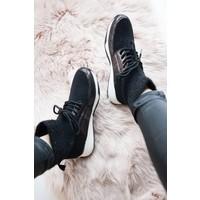 WARM SOCKS BLACK - SNEAKERS