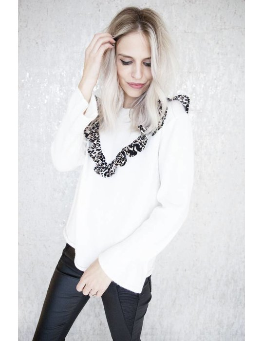ellemilla CUTE LEOPARD WHITE