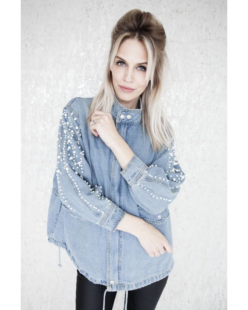 LUCY PEARLS BLUE - JACKET
