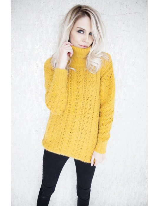 ellemilla WINTER MARIE KNIT MUSTARD